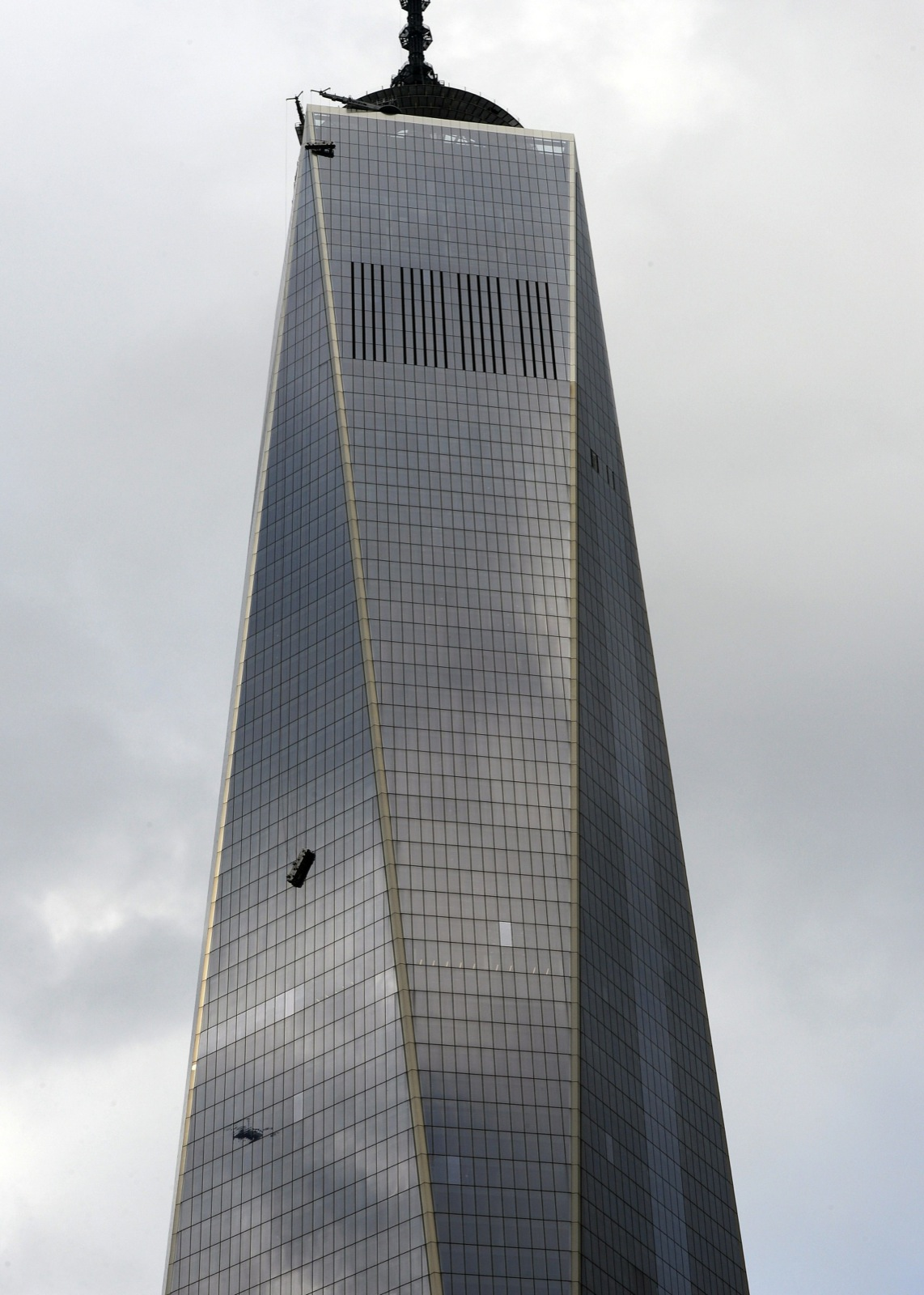 Near Disaster at WTC: In Pictures