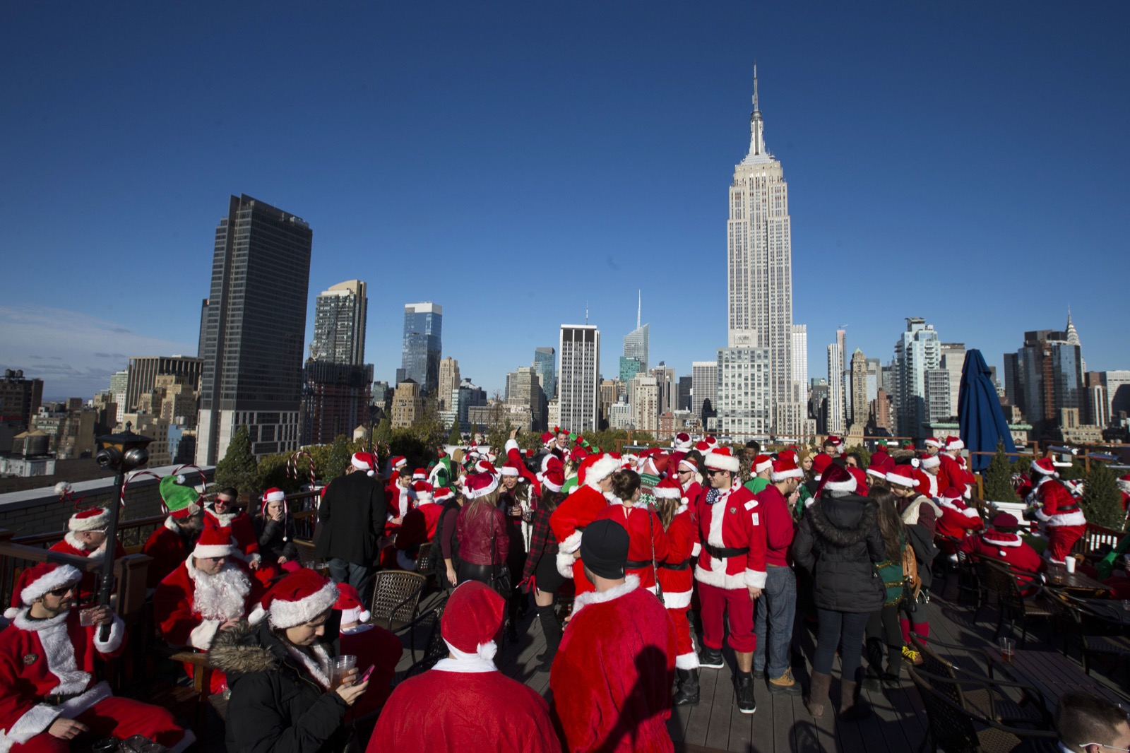 SantaCon 12/13/14 in Pictures