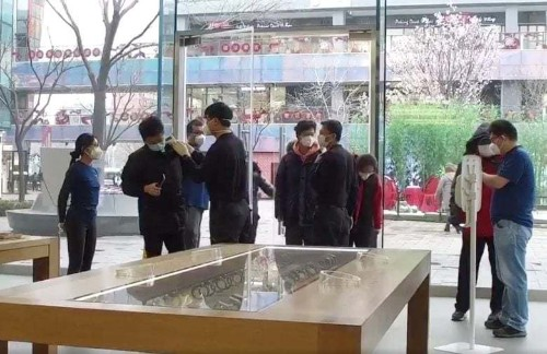Beijing Apple stores reopen with temperature scans and free masks | Cult of Mac