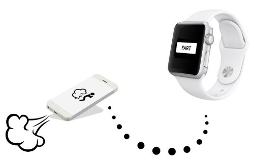 Here come the Apple Watch fart apps