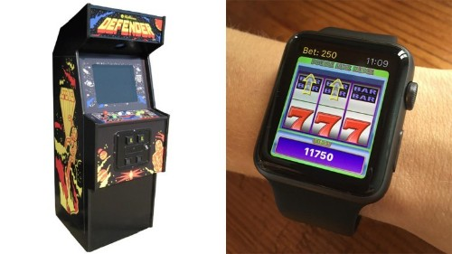 Video game legend is bringing slot machines to the Apple Watch
