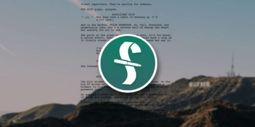 This is the industry standard app for screenwriting [Deals]