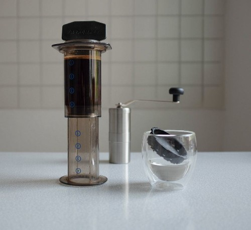 AeroPress makes a killer cup of coffee, even on the road