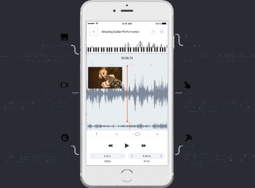 AudioStretch slows down songs and videos to make learning music easier