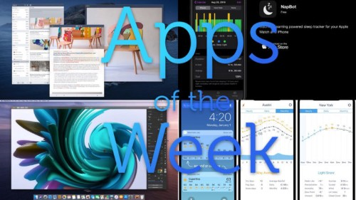 The best Catalina, Catalyst and nap apps this week