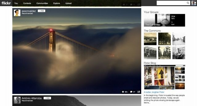 Yahoo Unveils Complete Redesign Of Flickr, Now Offering 1TB Of Free Storage