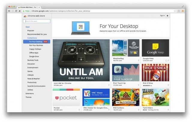 Google Brings Chrome Apps To The Mac