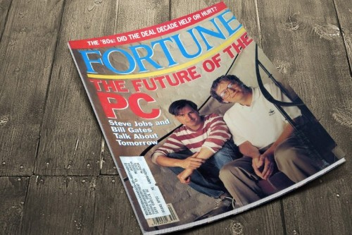 Today in Apple history: Steve Jobs and Bill Gates talk 'future of the PC'