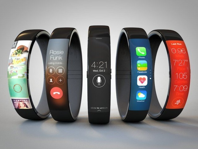 iWatch concept  - Magazine cover