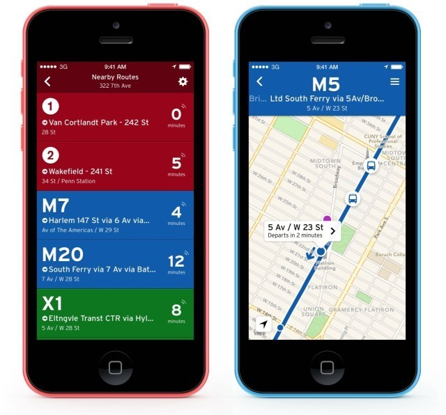 One Of The Best Transit Apps For iPhone Gets iOS 7 Makeover