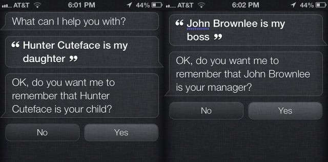 Use Siri To Add Relationships To Your Contacts For More Natural Interactions [iOS Tips]