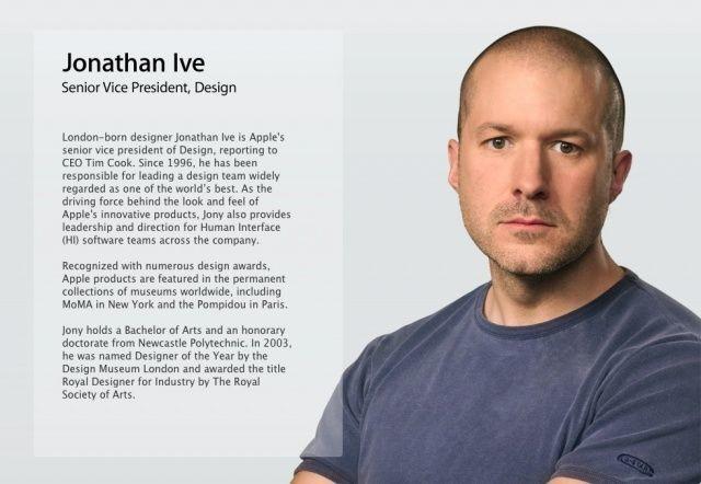 Jony Ive Has A New Job Title At Apple (Hint: It's Still Not CEO)