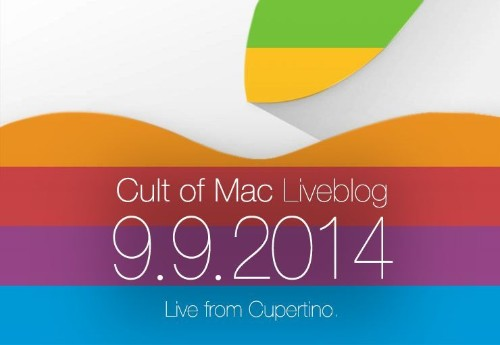 Liveblog: Get your iPhone 6 and iWatch fix with Cult of Mac