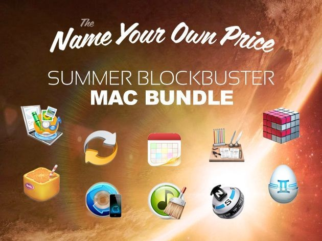 Last chance to name your own price on The Summer Blockbuster Mac Bundle [Deals]