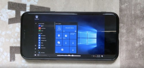 Check out full Windows 10 running on an iPhone X