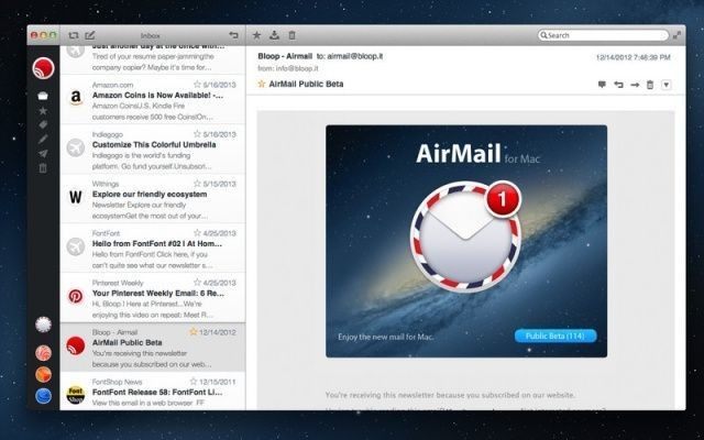 Airmail Is A Gorgeous New Mail App For Your Mac, And It's Just $1.99