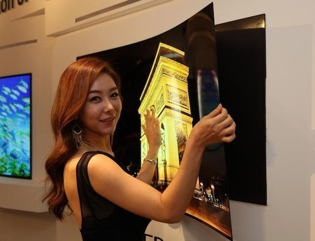 Holy crap! LG has made HDTV as thin as wallpaper