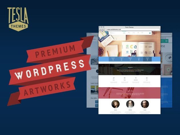 Create A Pro Website In Minutes With TeslaThemes [Deals]