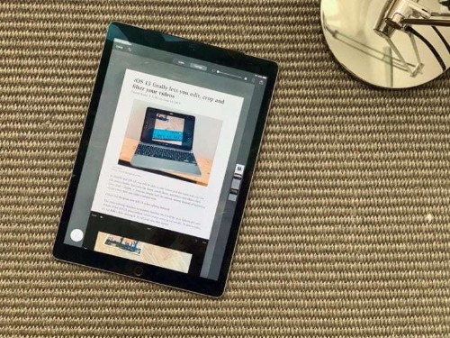 How to use iPadOS' new full-page PDF capture tool