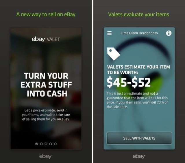 eBay Valet sells your unwanted goods on your behalf