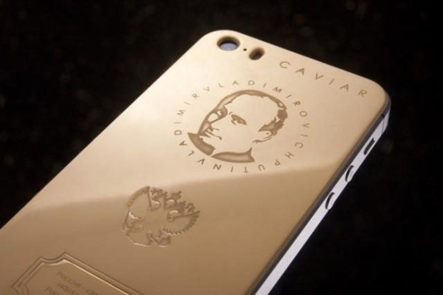 This gold Putin edition iPhone 5s will set you back a cool $4,360