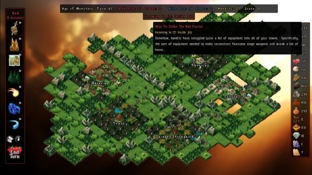 Grab Five Bucks And Play 'Skyward Collapse', A 4X Strategy God Game That Fights Back