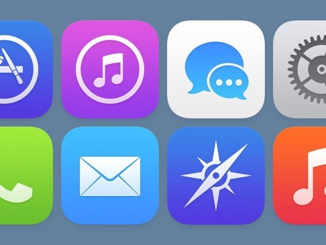Former Apple Designer Has A Great Idea Of What iOS 7 Icons Should Look Like [Concept]