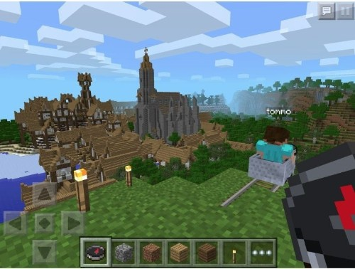 Over Christmas, Minecraft: Pocket Edition won the App Store