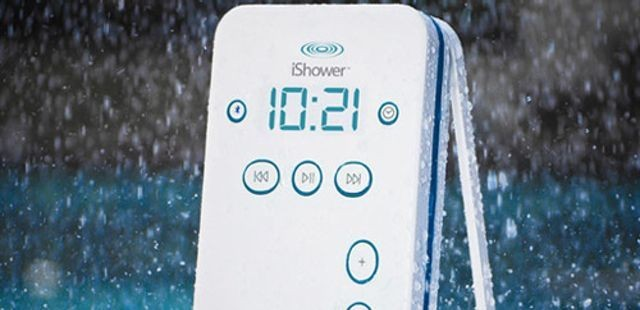 Enjoy Quality Sound From Your Bluetooth-Enabled Device With The iShower [Deals]