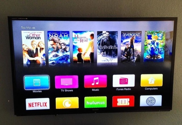 Apple TV beta gets iOS 7-style makeover with new icons and font
