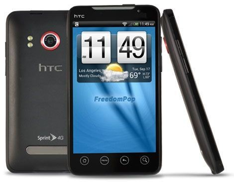 Get the FreedomPhone HTC Evo 4G + Unlimited Voice and Text For 1 Year- only $159 [Deals]