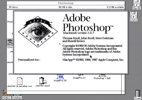 Today in Apple history: Photoshop debuts as a Mac exclusive | Cult of Mac