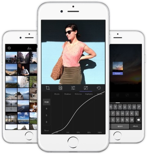 Darkroom is like having the best of Adobe Lightroom on your iPhone