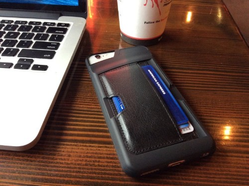 Never forget your ID again with super slim, stylish wallet case