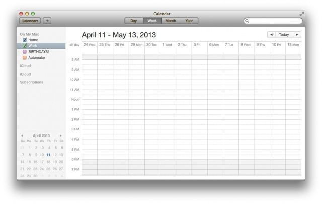 Mastering OS X Calendar: Customize The Number Of Days Shown [OS X Tips]
