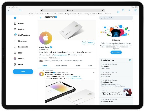 Apple Card gets its very own Twitter account