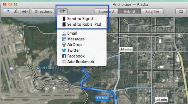Here's How To Send Directions From OS X Mavericks Maps To Your iOS Device [OS X Tips]