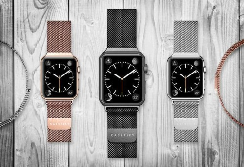 Wrap your Apple Watch in woven stainless steel [Watch Store]