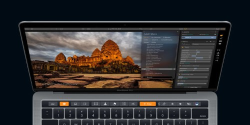 Photo-editing Mac app Luminar adds support for MacBook Pro's new Touch Bar