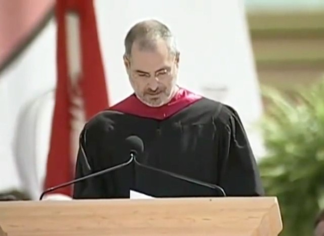 Steve Jobs' inspirational commencement speech is hidden in Pages for Mac