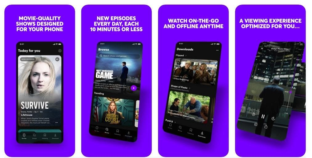 Video subscription service Quibi racks up 300,000 downloads on day 1