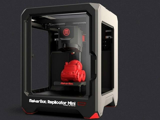MakerBot's New 3D Printers Include Entry-Level Replicator Mini [CES 2014]