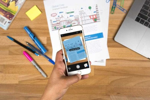 Free Adobe Scan app will be your paper pusher