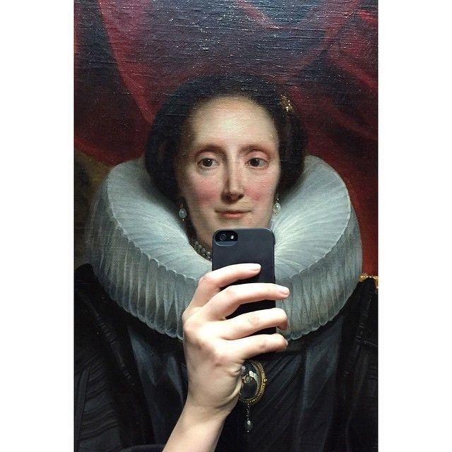 No classic painting is safe from 'museum selfies'