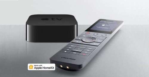 Creston's high-end remote works with Apple TV and HomeKit now