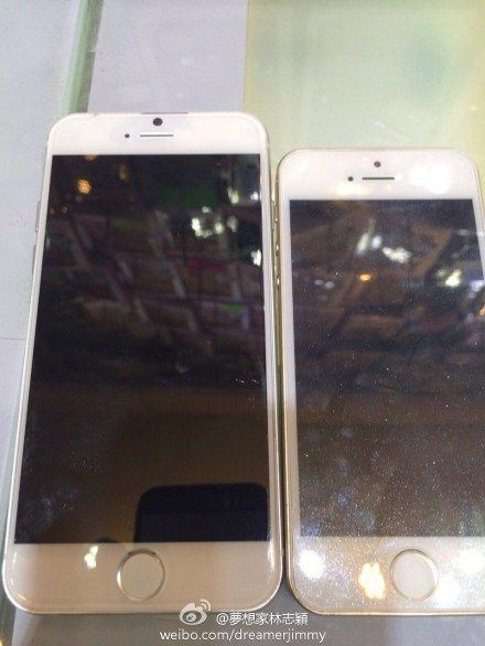 New pictures of the iPhone 6 show larger display, thinner design