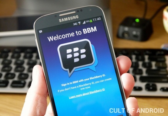 BlackBerry: Don't Expect To See BBM For Android & iOS This Week