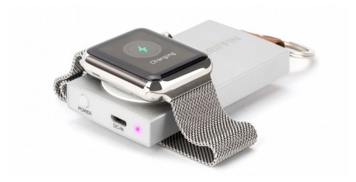 Griffin's Travel Power Bank keeps your Apple Watch charged for days
