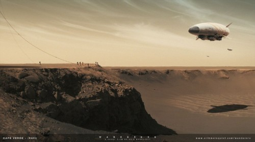See four minutes of jaw-dropping space travel in this sci-fi short