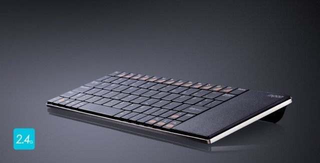 Rapoo's Ultra-Slim Keyboard Has A Built-In Trackpad
